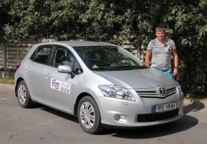 B kategooria sõiduõpetaja (automaat) Viktor Krivtsov, tööstaaž al. 2003 a.
